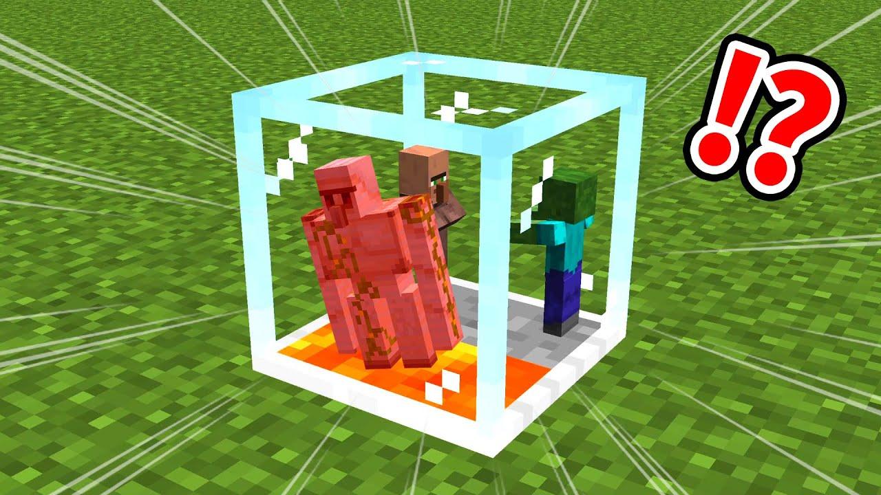 アイアンゴーレムトラップブロックが最強すぎるマインクラフト【マイクラ】【〇〇鳥犬猿MODクラフト #2】