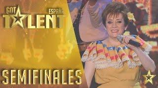 Ana Navarro se crece con una ranchera | Semifinales 2 | Got Talent España 2016