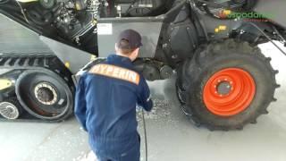 Mycie maszyny rolniczej, a ciężarówki na przykładzie Hyperin