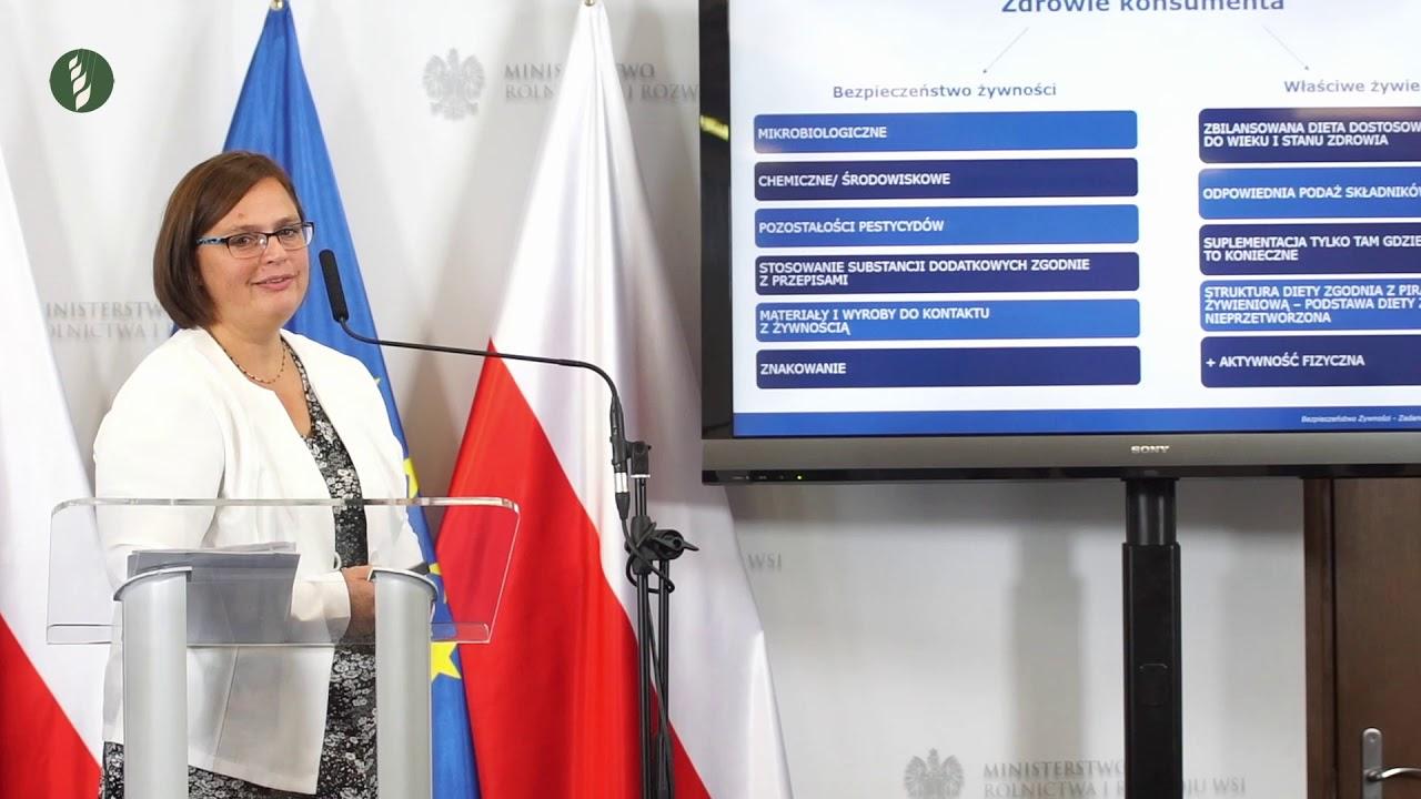 Jak to jest z jakością polskiej żywności? - konferencja prasowa Ministra Rolnictwa i Rozwoju Wsi