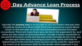 Pay Day Loans & Pay Day Advance Review