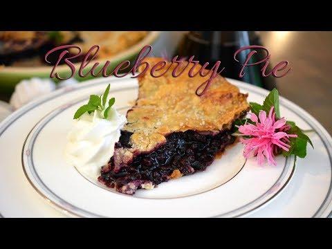 Blueberry Pie | Fruit Pie | Easy Dessert | Summer Dessert