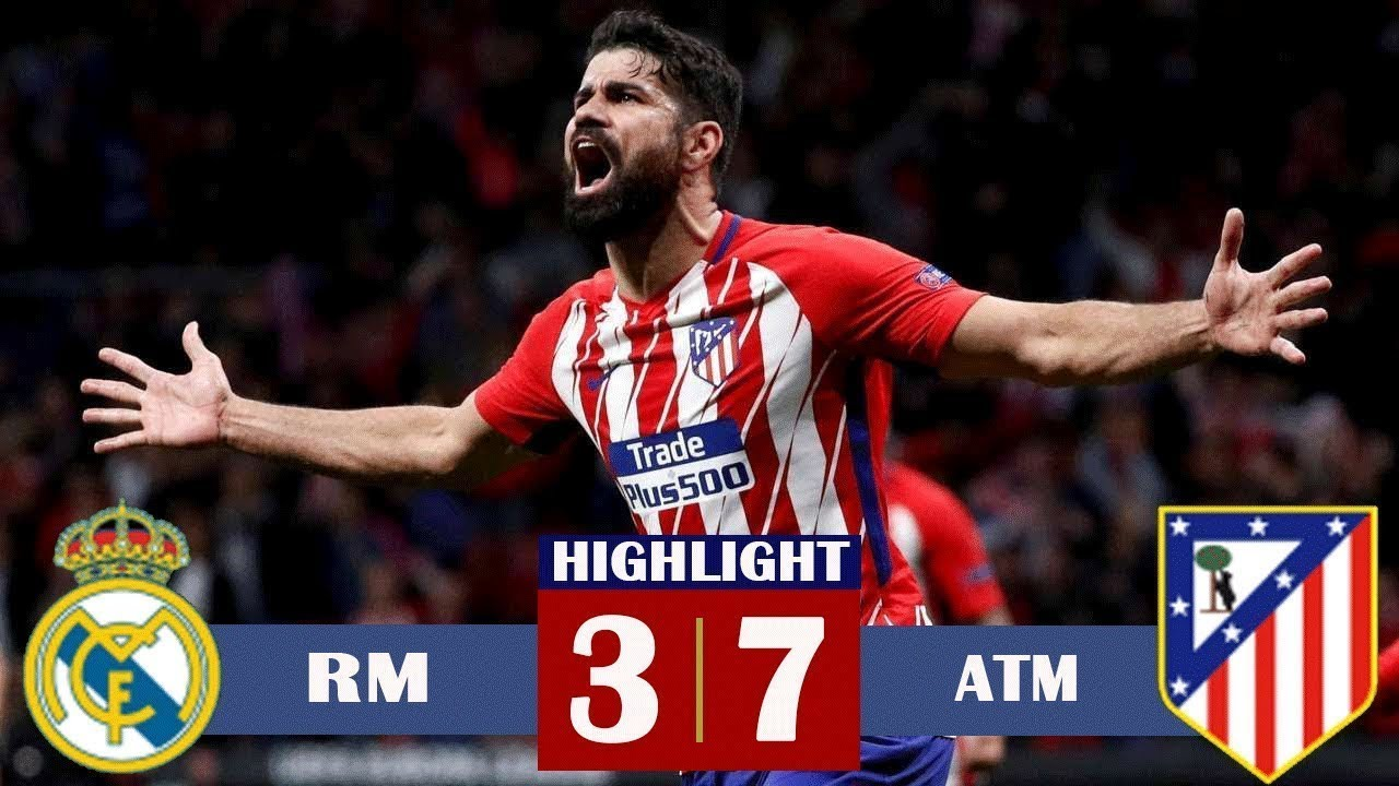 Real Madrid Vs Atletico Madrid 3 7 All Goals Highlights 07 26 2019 Youtube