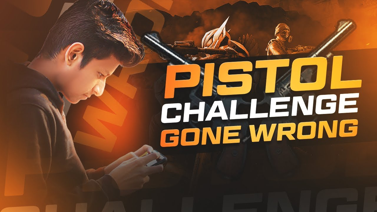 😤 PUBG Mobile Pistol Challenge Gone Wrong - Pubg Hindi Gameplay- Legend X