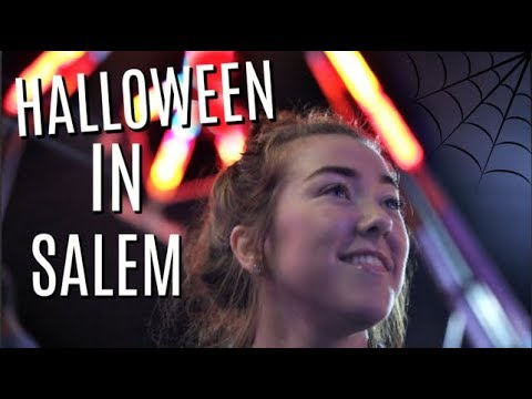 WHAT HALLOWEEN IN SALEM MA IS LIKE | Daily College Vlog | Kenzie Borowski