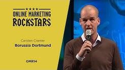 Carsten Cramer, Marketing Director, BVB - Online Marketing Rockstars 2014 | OMR14