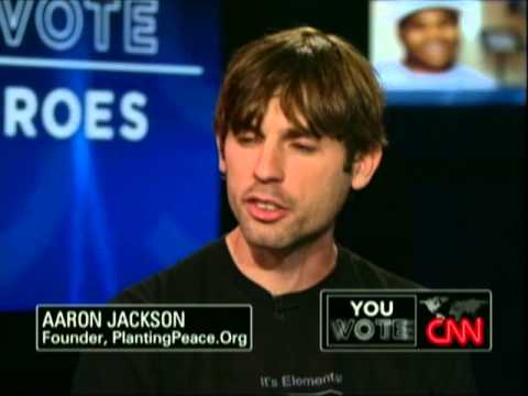 Planting Peace's Aaron Jackson on CNN with Anderson Cooper