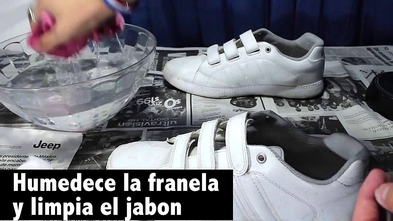 Cómo limpiar zapatillas blancas: Consejos y trucos