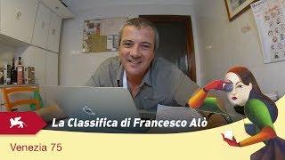 Venezia 75 - La classifica di Francesco Alò dei film in Concorso