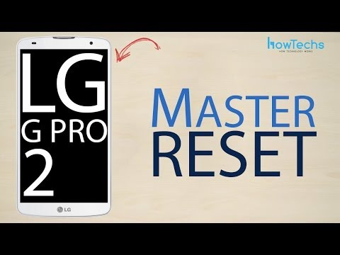LG G Pro 2 - How to master reset