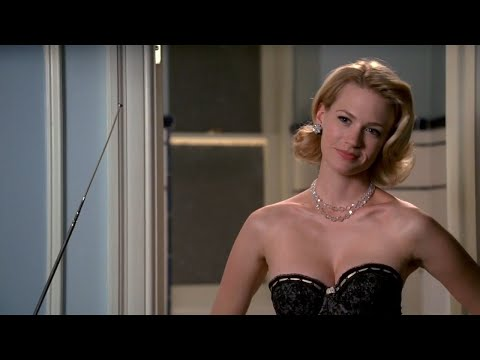 January Jones Mad Men Lightning Strike