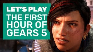 Lets Play Gears 5 | The First Hour (And A Bit) Of Gears 5 Gameplay