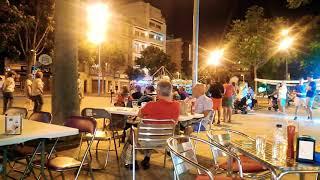Ночь Сан Хуана в Испании. У нас это Иван Купала - летнее солнцестояние. 23 июня 2018.