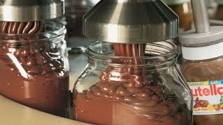 Crazy food processing machine 2018 | NUTELLA