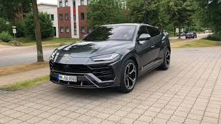 The Brand New 2018 Lamborghini Urus! (Cold Start Up, Acceleration & Pure Sound!)