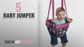 Top 10 Baby Jumper [2018]: Evenflo ExerSaucer Door Jumper, Pink Bumbly