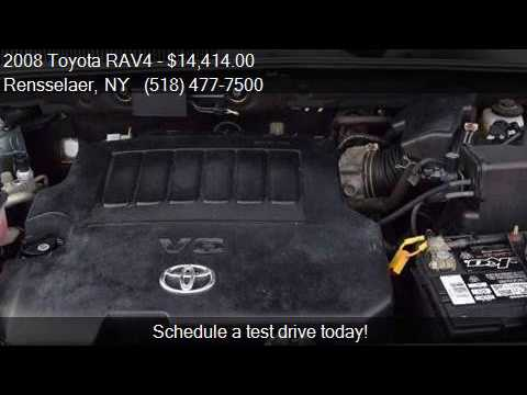 2008 toyota rav4 limited 4x4 4dr suv v6 for sale in for Broadway motors rensselaer ny
