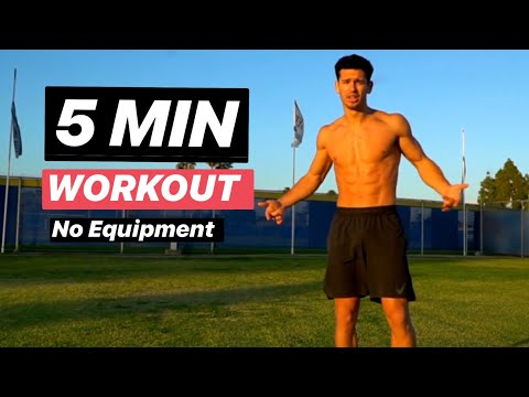5 Min Abs Workout | Fat Burning Routine You Can Do Anywhere