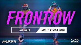 RIE HATA | FrontRow | World of Dance South Korea Qualifier 2016 | #WODKOR16