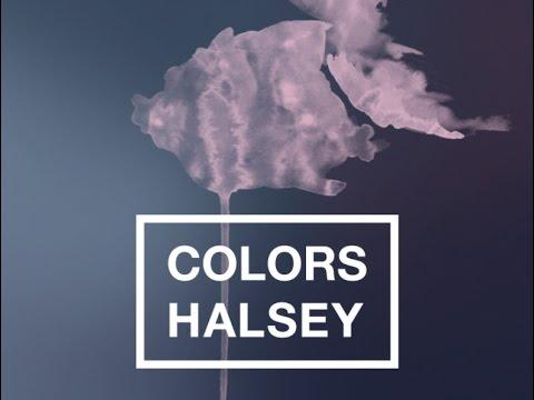 Halsey - Colors (Lyrics Video)