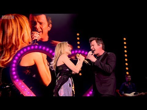 Kylie Minogue & Rick Astley - I Should Be So Lucky /Never Gonna Give You Up (Hyde Park 2018)