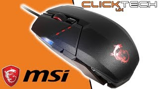 MSi Clutch GM60 Gaming Mouse Review
