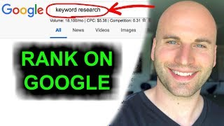 Google Keyword Ranking - Easily Find The BEST KEYWORDS For FREE!