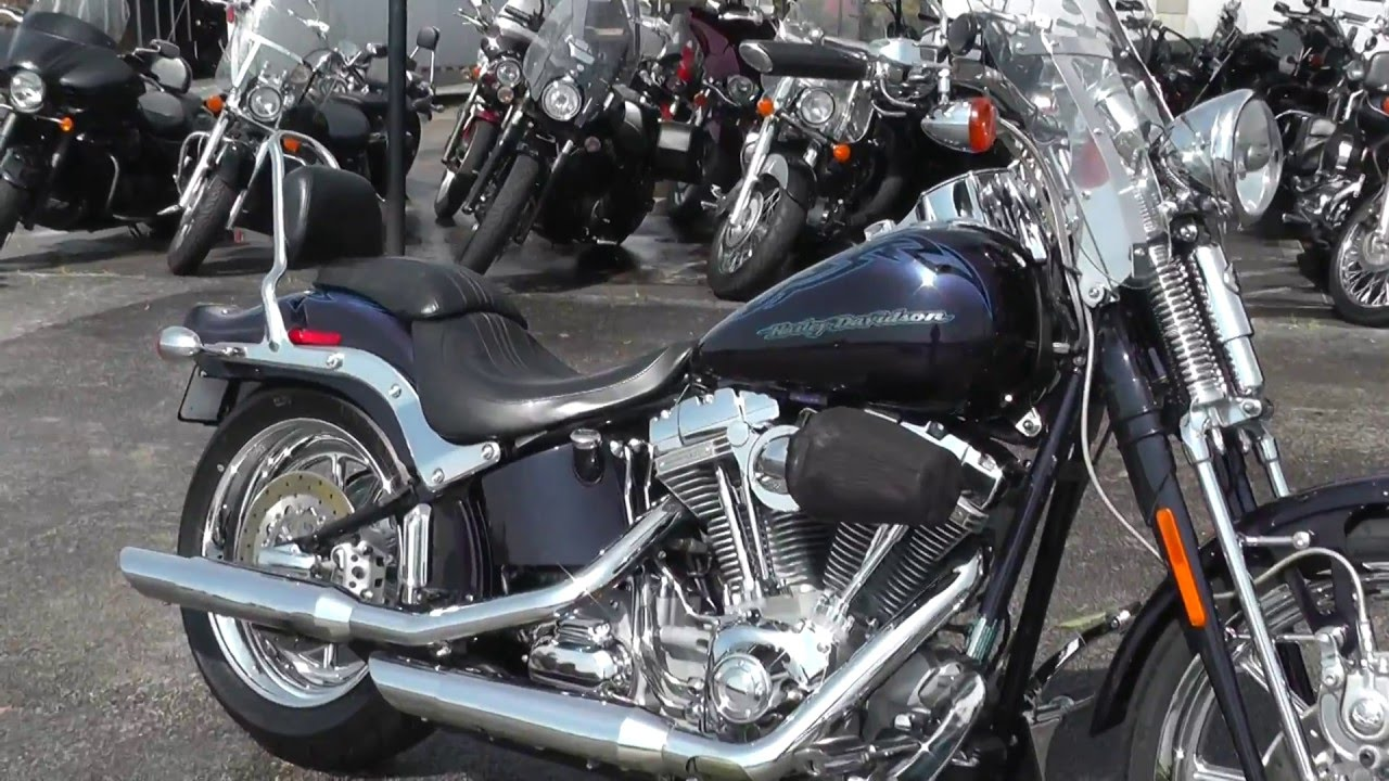 955393 2007 harley davidson cvo softail springer fxstsse used motorcycle for sale youtube