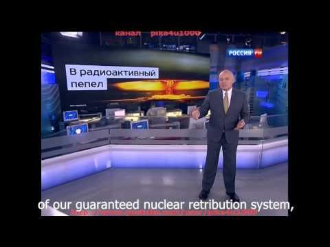 Kiselev Russia May Turn US Into Radioactive Dust