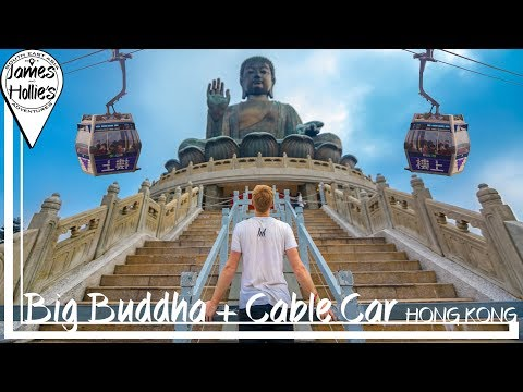 HOW TO visit BIG BUDDHA by the CABLE CAR in HONG KONG | Barbster360 Travel Vlog