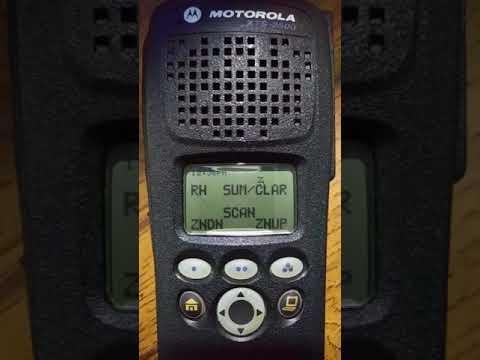 Motorola xts2500 scanning the richland county sc trunked radio system