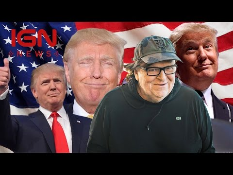Michael Moore Announces Donald Trump Movie - IGN News