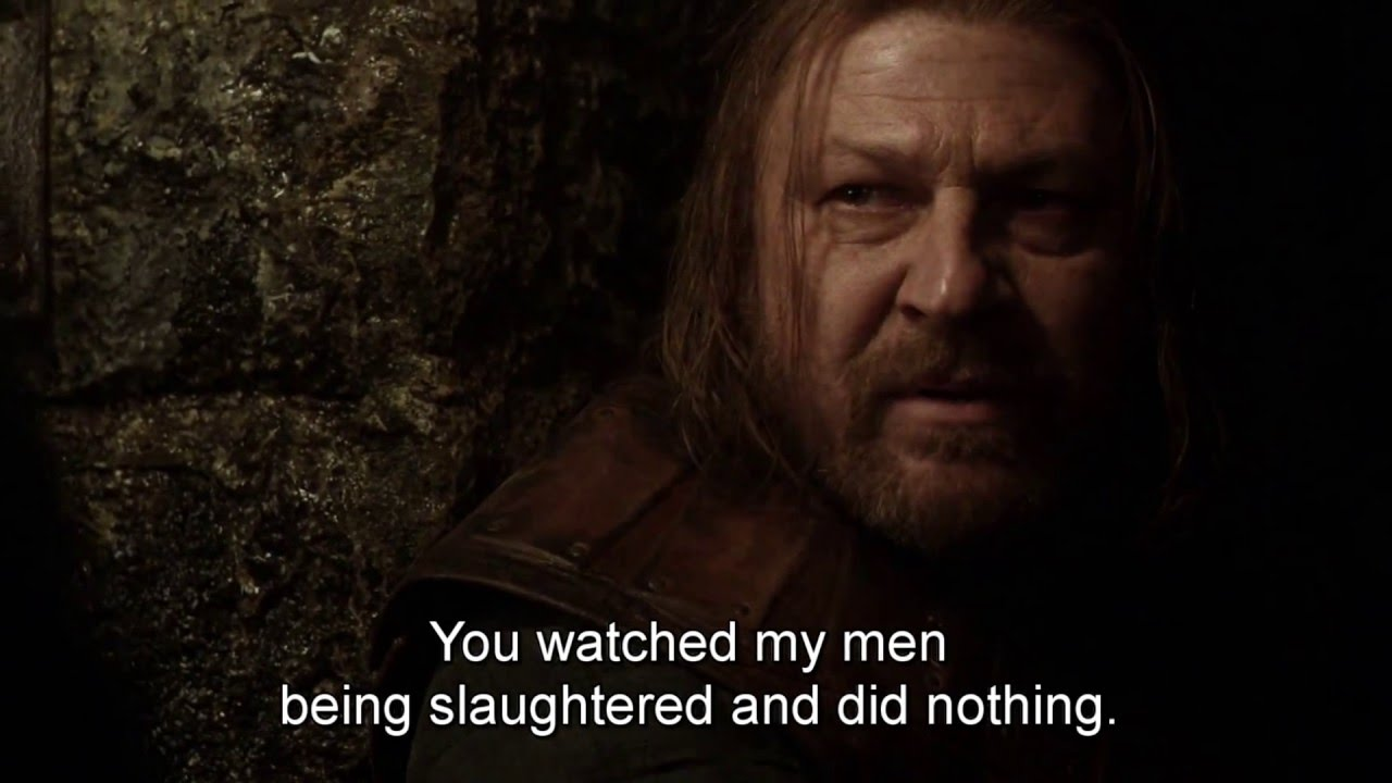 Best Conversations And Quotes In Game Of Thrones Part I Youtube