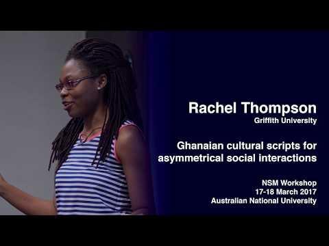 Ghanaian cultural scripts for asymmetrical social interactions