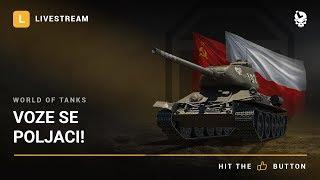 Laponac strimuje - World of Tanks/Escape from Tarkov 🔴 Voze se poljaci!
