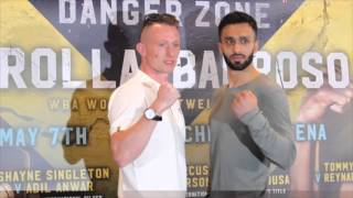 SHAYNE SINGLETON v ADIL ANWAR OFFICIAL HEAD TO HEAD / DANGER ZONE