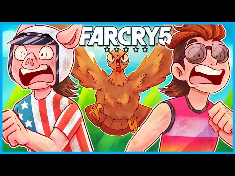 EVERYTHING Wants to KILL YOU in FAR CRY 5! (Far Cry 5 Funny Moments Gameplay)
