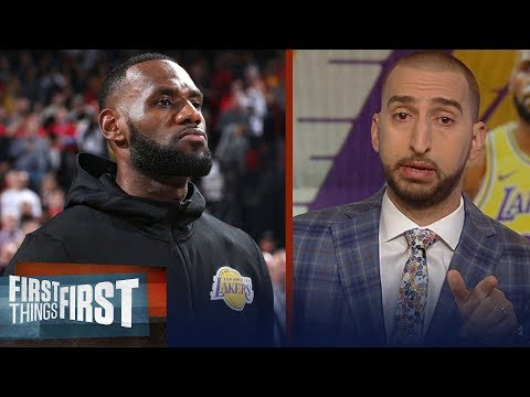 Nick Wright breaks down LeBron's Lakers debut | NBA | FIRST THINGS FIRST
