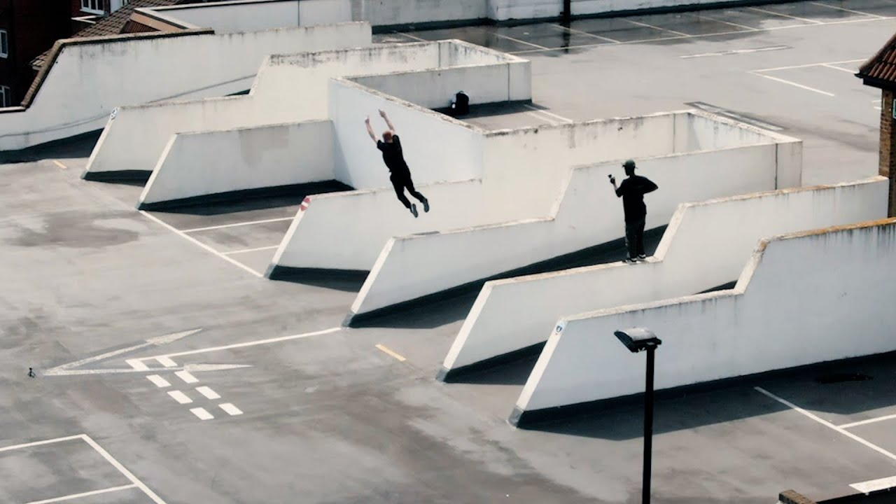 Incredible Parkour spots! STORROR clothing SS21 🇬🇧