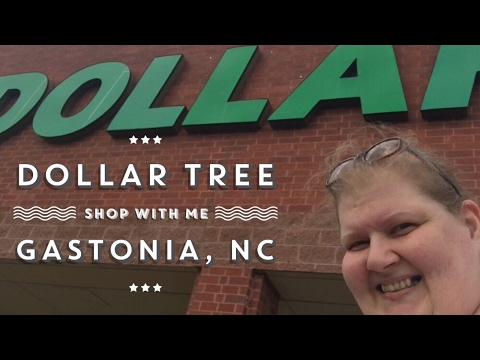 Dollar Tree Shop With Me Gastonia, NC March 27, 2017