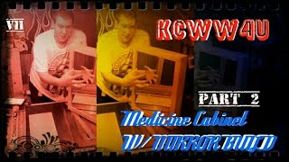 V11 Medicine Cabinet W/ Mirror Part 2