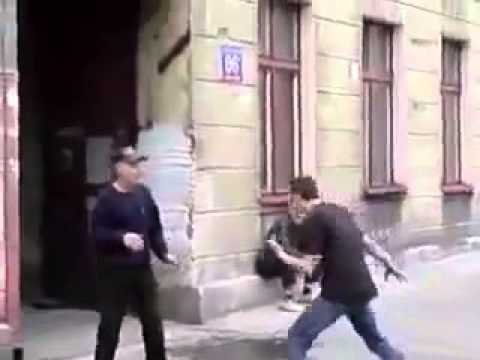 Old Man KO's Bully