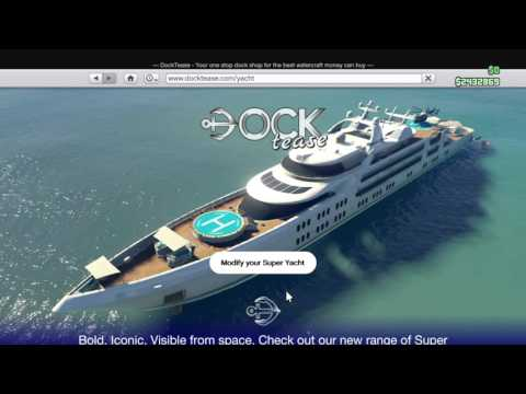 How to get a yacht cheaper or for free GTAV ONLINE