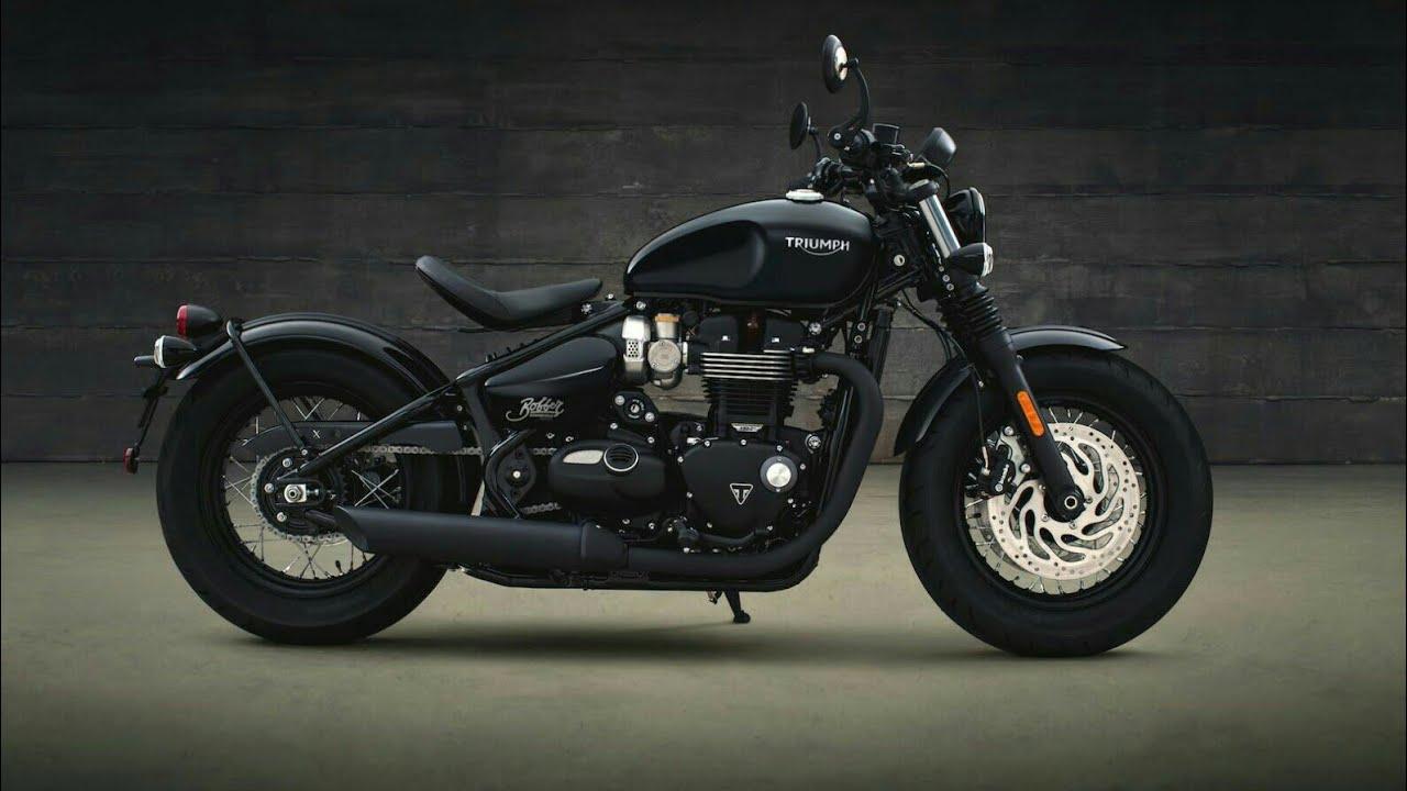 2018 Triumph Bonneville Bobber Black Price And Details Youtube