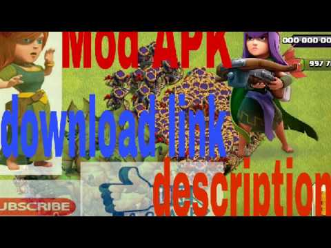 Clash Of Clans Mod Apk 2018 10.134.7  All Unlimited 👇 (full HD)