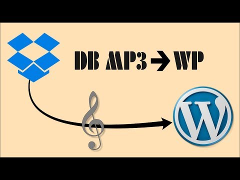 How To Embed A DropBox-Hosted MP3 Into A WordPress Website