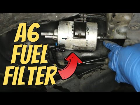 How To Replace Fuel Filter Audi A6 & A4 '06 – '11 | DIY (The Safe Way)