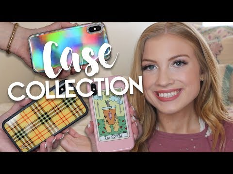 iPhone X Case Collection 2018! (Try-On) | Lottie Smalley