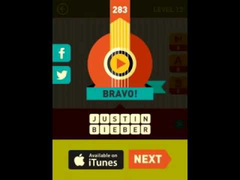 Icon Pop Song Quiz game answers level 13