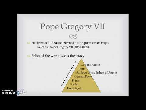 Gregory VII v. Henry IV